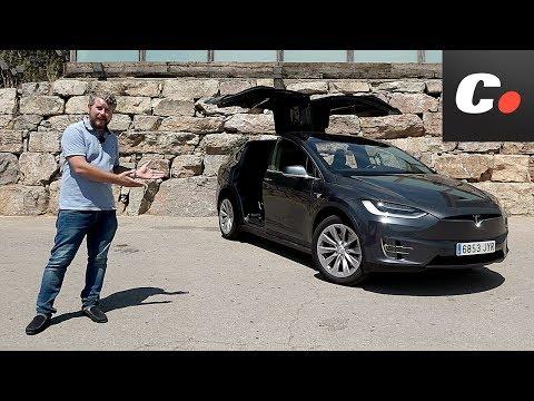 Tesla Model X 2017 | Prueba / Test / Review en Español | Coches.net