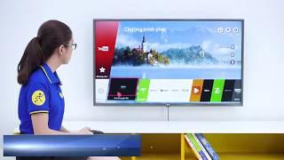 Tìm hiểu hệ điều hành WebOS trên tivi LG