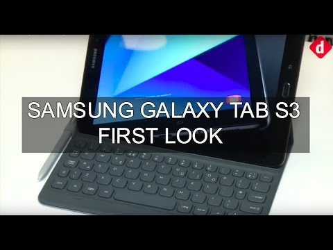 Samsung Galaxy Tab S3 First Look  Digitin