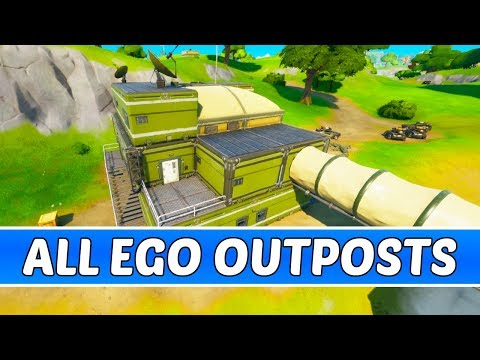 All E.G.O Outpost Locations - Fortnite Chapter 2