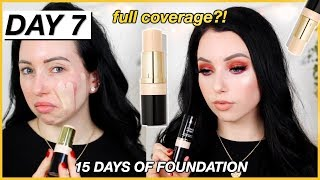 Full Coverage Drugstore Stick Foundation?? New MILANI FOUNDATION! {First Impression Review & Demo!}