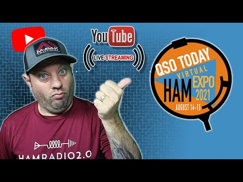Lunchtime Livestream with Eric, 4Z1UG, for the QSO Today Ham Expo