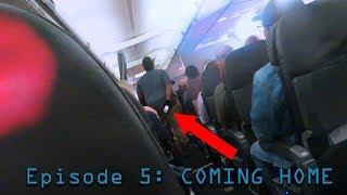 Cruise Trip Episode 5: DRUNK GUY GETS KICKED OFF PLANE!