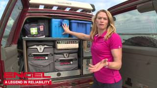 Packing the car for camping with Emma George
