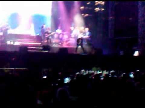 Marc Anthony en vivo ahora quien desde el Angel en mexico df 18 dic 2010
