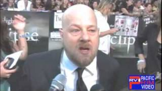 Director David Slade at the Twilight Eclipse Premiere..Worried more about Twilight Fans