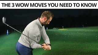 THE 3 WOW MOVES OF EVERY PROFESSIONAL GOLF SWING - YouTube