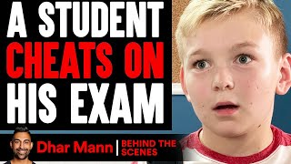 Student CHEATS On His EXAM (Behind The Scenes) | Dhar Mann Studios