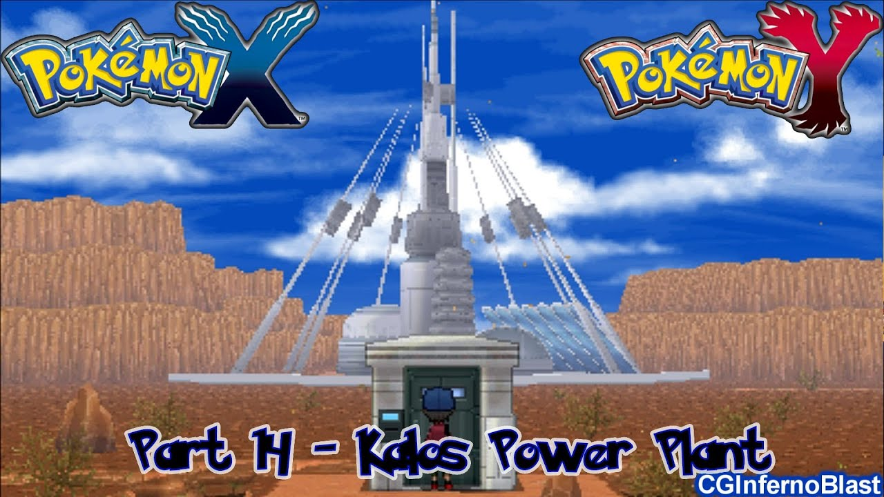 pokemon x electrical plant what is a electrical plant