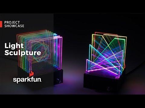 Project Showcase: Light Scuplture