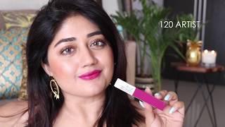 Maybelline Superstay Matte Ink Lipstick - Wear Test, Review, SWATCHES | corallista