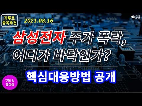 #삼성전자급락과대응