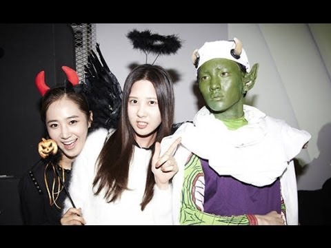 131031 SNSD at SMTOWN Halloween Party