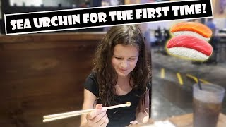 Sea Urchin For The First Time 🍣 (WK 384.7) | Bratayley