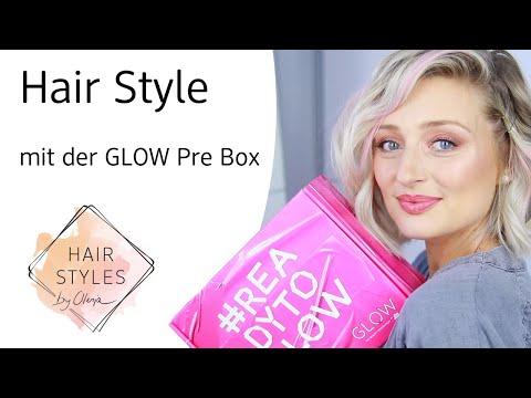 GLOW Prebox Hairstyle mit Olesja + Gewinnspiel