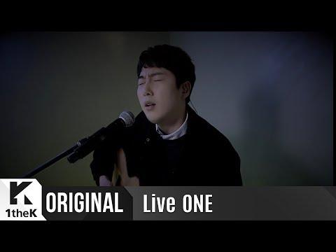 LiveONE(라이브원): Jang Beom June(장범준) _ every moment with you(당신과는 천천히)