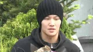 Kim Jong Kook's Inteview ( Speaks English) @ MS release