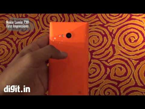 Nokia Lumia 730   First Impressions