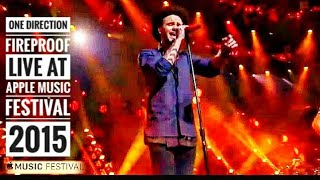 One direction - Fireproof , Live at Apple music festival , London 2015