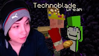 Quackity Visits Dream and Technoblade In Prison