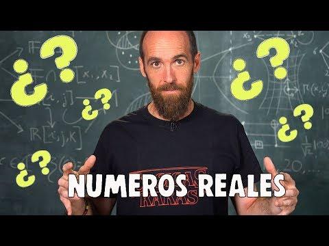 ¿Qué son realmente los NÚMEROS REALES?