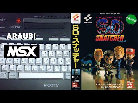 SD Snatcher (Konami, 1990) MSX2 [700] Walkthrough Comentado