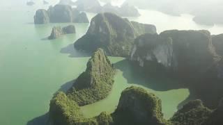 Từ trên cao thấy gì ở Hạ Long? Halong Bay and City Panorama