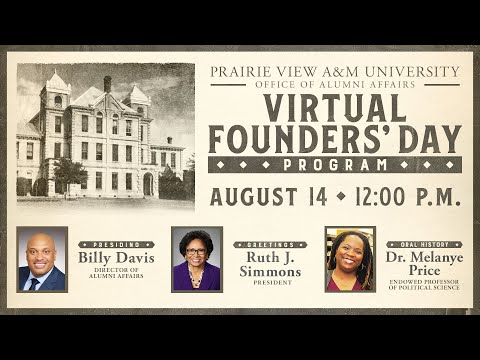 2020 Virtual Founders Day