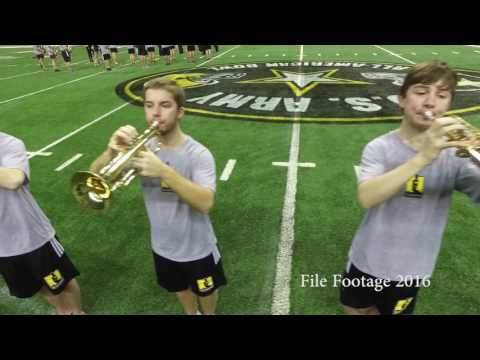 U.S. Army All-American Bowl Instrument Setup
