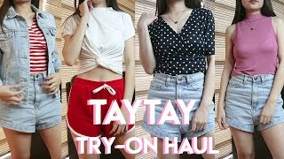 TAYTAY TIANGGE TRY-ON HAUL 2018 | Yenne Venice