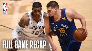 NUGGETS vs SPURS | San Antonio Looks to Force Game 7 | Game 6
