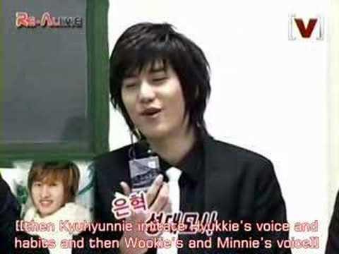070217 Super Junior KRY Brain Drawings 1/2 {English Subbed}