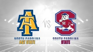 2019 MEAC Football: North Carolina A&T vs  South Carolina State