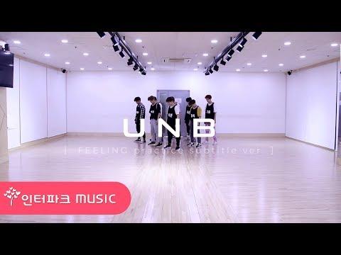 UNB -  '감각 (Feeling)' 안무 영상 (Dance Practice)