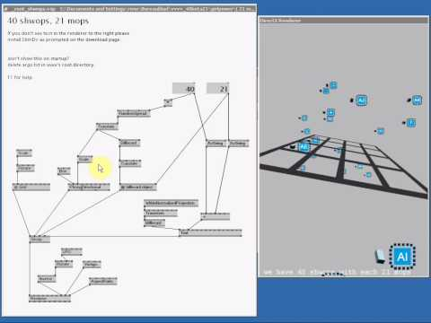 Tutorial 1: Starting vvvv for the first time