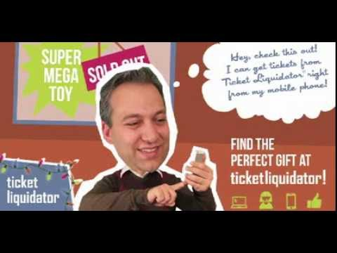 Be a Holiday Hero with Ticket Liquidator! (SUPERCUT)