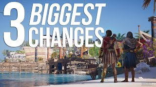 Assassin's Creed Odyssey's 3 BIGGEST CHANGES! | New Combat Style, New Characters & More!