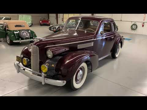 video 1939 Cadillac LaSalle Series 50 Opera Coupe