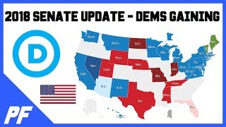 Democrats Closing In - 2018 Senate Midterm Election Results Update - Arizona & Florida