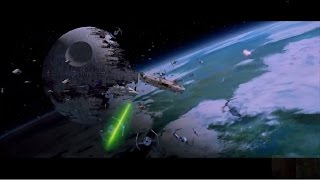 Star Wars VI: Return of the Jedi - Battle of Endor (Space Only) 1080p