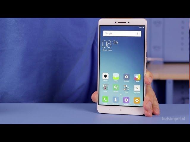 Belsimpel.nl-productvideo voor de Xiaomi Mi Max