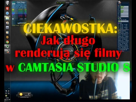 Jak długo renderują się filmy w Camtasia Studio 8