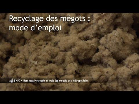 Recyclage des mégots à Bordeaux : mode d'emploi