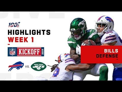 Bills D Knocks Jets Around w/ 4 Sacks | NFL 2019 Highlights