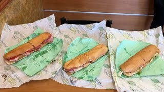 Subway Sandwich Artists Showdown
