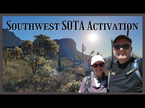 Summits on the Air in the Sonoran Desert