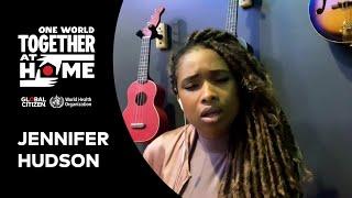 """Jennifer Hudson performs """"Hallelujah""""   One World: Together At Home"""