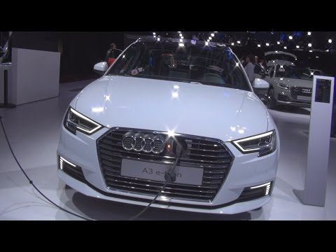 @Audi A3 Sportback 1.4 TFSI e-tron S tronic 6 204 hp (2017) Exterior and Interior in 3D