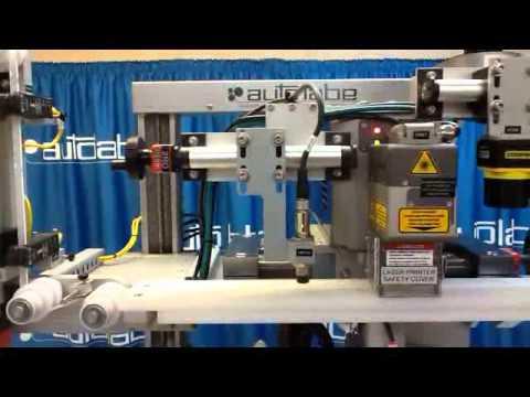 390 Custom Laser RFID Varify Data Collect