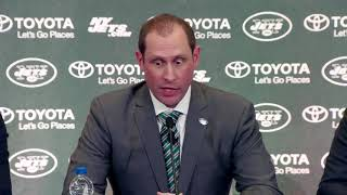 WATCH: The best parts of the Adam Gase presser with the Jets
